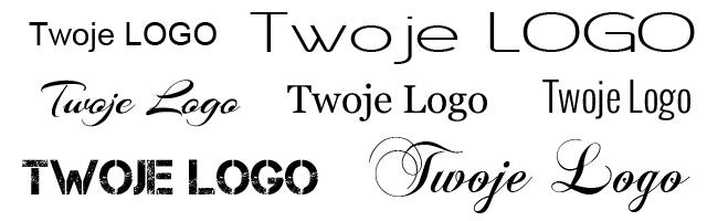 rodzaje czcionek projekt logo