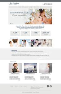 projekt strony internetowej portfolio fotografa