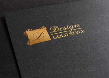 projekt-logo-firma-odziezowa-design-gold-style