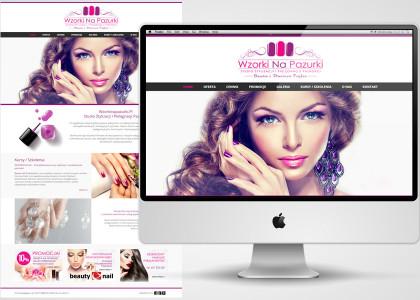 projekt-strony-salon-kosmetyczny-paznokcie