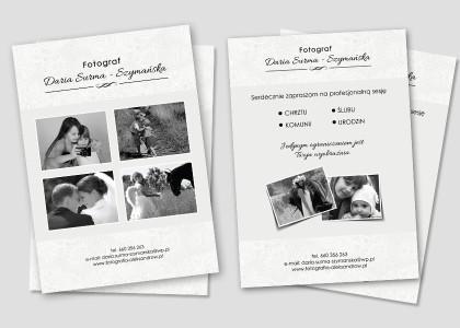 projekt-ulotki-a5-grafik-fotograf-slubny