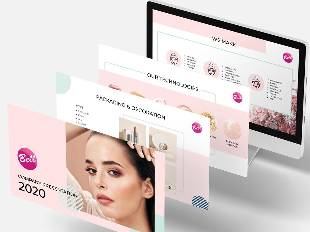 projekt-prezentacji-korporacyjnej-kosmetyki